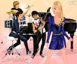 Puzzle de Oh My Dollz Superstar