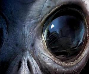 Puzzle de Ojo de alien, alienígena