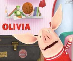 Puzzle de Olivia la cerdita