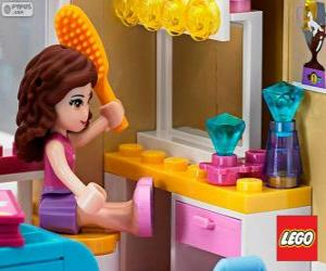 Puzzle de Olivia, Lego Friends
