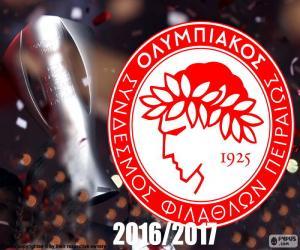 Puzzle de Olympiacos FC campeón 16-17