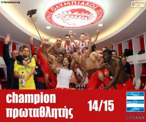 Puzzle de Olympiacos FC campeón 14-15