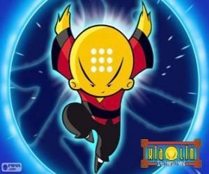 Puzzle de Omi, Xiaolin Dragón de Agua, el protagonista principal