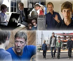 Puzzle de Oscar 2011 - Mejor Película de Habla No Inglesa: Susan Bier - In a better world - (Dinamarca) 1