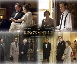 Puzzle de Oscar 2011 - Mejor Pelicula: El discurso del rey (2)
