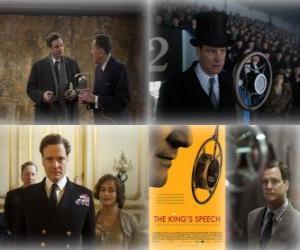 Puzzle de Oscar 2011 - Mejor Pelicula: El discurso del rey (1)