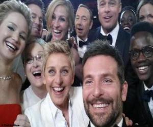 Puzzle de Oscars 2014, selfie
