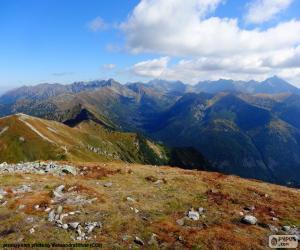 Puzzle de Otoño en alta montaña