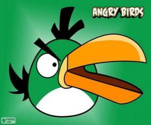 Puzzle de Pájaro Verde (Green Bird)