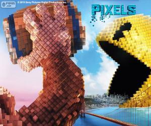 Puzzle de Pac-Man y Donkey Kong