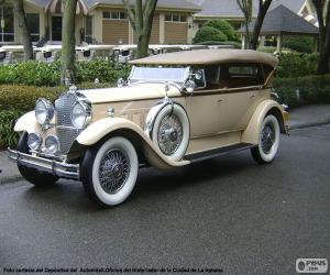 Puzzle de Packard 740 S. Eight (1930)