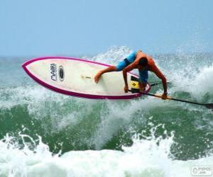 Puzzle de Paddle surf