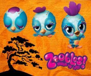 Puzzle de Pajarito Zooble de Petagonia