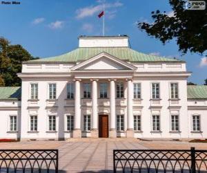 Puzzle de Palacio Belwederski, Varsovia, Polonia