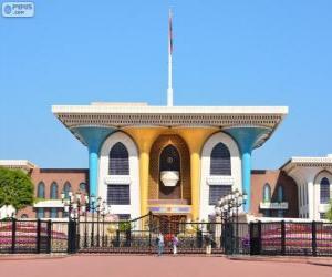Puzzle de Palacio de Al Alam, Mascate, Omán