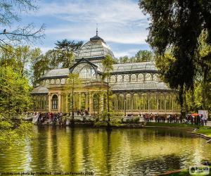 Puzzle de Palacio de Cristal, Madrid