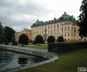 Puzzle de Palacio de Drottningholm, Drottningholm, Suecia