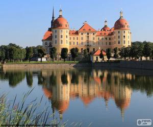 Puzzle de Palacio de Moritzburg, Alemania