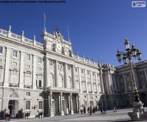Puzzle de Palacio de Oriente, España