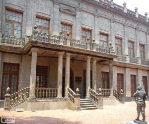 Puzzle de Palacio del Conde de Buenavista, Ciudad de México, México