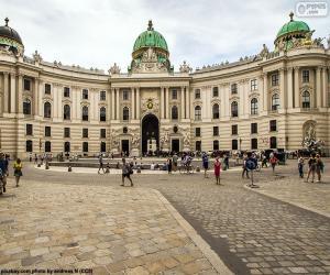 Puzzle de Palacio Imperial de Hofburg, Austria
