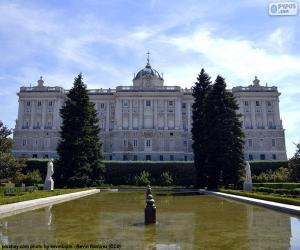 Puzzle de Palacio Real de Madrid