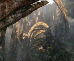 Puzzle de Pandora, planeta de los na'vi