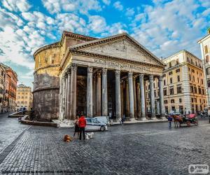 Puzzle de Panteón de Agripa, Roma