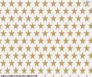 Puzzle de Papel de estrellas