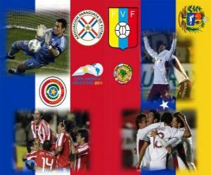 Puzzle de Paraguay - Venezuela , semifinales, Copa América Argentina 2011