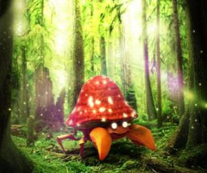 Puzzle de Parasect - Pokémon tipo Planta Bicho