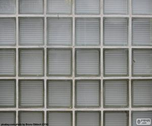 Puzzle de Pared de bloques de vidrio