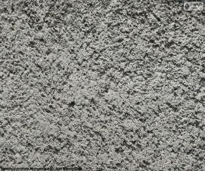Puzzle de Pared de cemento en bruto