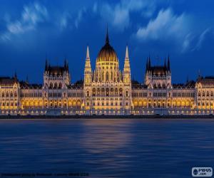 Puzzle de Parlamento de Budapest, HUN