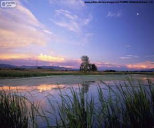 Puzzle de Parque nacional Lee Metcalf, Montana, USA