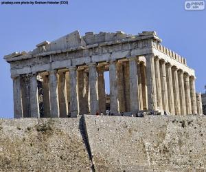 Puzzle de Partenón, Grecia
