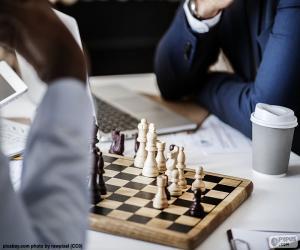 Puzzle de Partida de ajedrez
