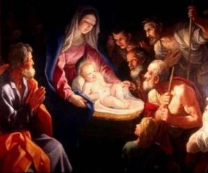 Puzzle de Pastores adorando a Jesús