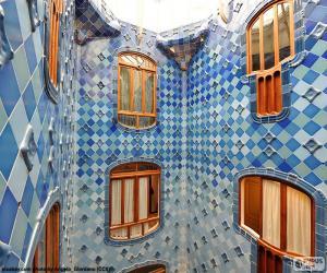 Puzzle de Patio de luces, Casa Batlló