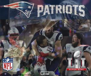 Puzzle de Patriots, Super Bowl 2017