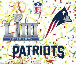 Puzzle de Patriots, Super Bowl 2019