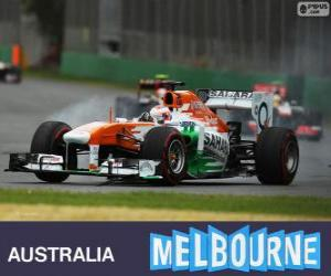 Puzzle de Paul di Resta - Force India - Melbourne 2013