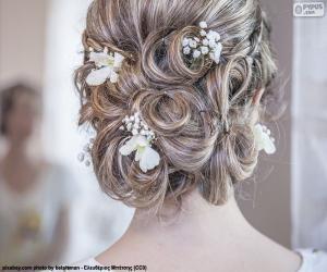 Puzzle de Peinado de novia
