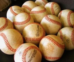Puzzle de Pelotas de beisbol
