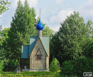 Puzzle de Pequeña capilla, Rusia