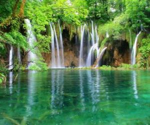 Puzzle de Pequeñas cascadas
