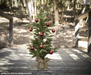 Puzzle de Pequeño árbol de Navidad