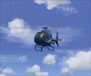 Puzzle de Pequeño helicóptero