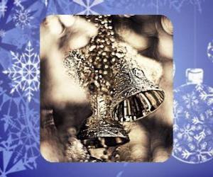 Puzzle de Pequeñas campanas navideñas