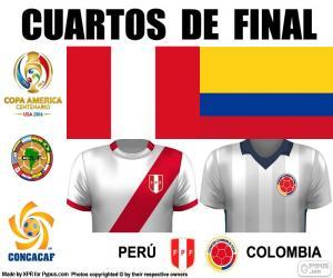 Puzzle de PER - COL, Copa América 16